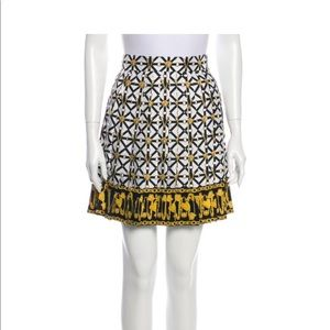 Versace silk skirt